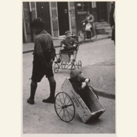 Home-made vehicle, Amsterdam, 1935