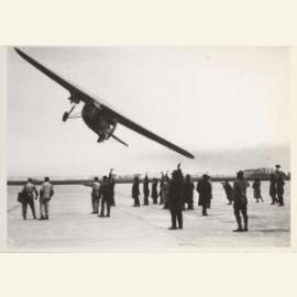 Vertrek per KLM naar Indie, april 1931