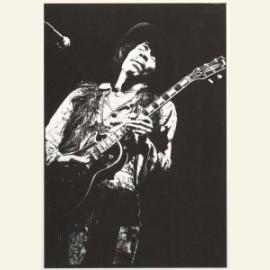 Jimi Hendrix performing with The Jimi Hendrix Expe