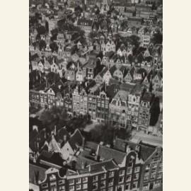 De Jordaan vanaf de Westertoren, Amsterdam, 1946