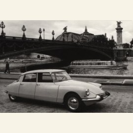Citroen DS 19, 1963 / Grand Palais a Paris