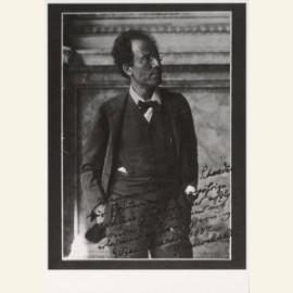 Gustav Mahler photographie par Moriz Nahr, aout 19