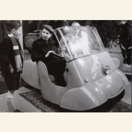 Driewielige tweepersoonsscooter, 1953