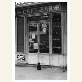 Cafe Cat Parijs 1975