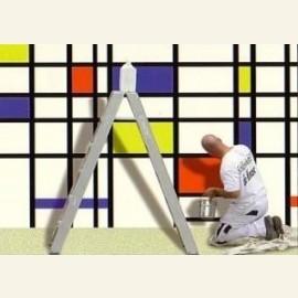 Schilder Klaas Mondriaan