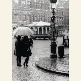 Bruxelles sous la pluie