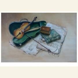 Stilleven viool