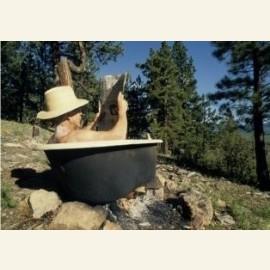 Jack's bathtube in Colorado, 2008