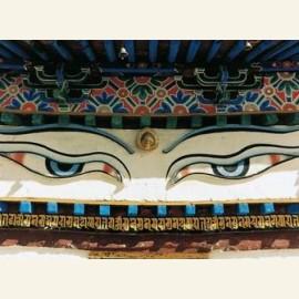 De alziende ogen van Buddha, Tibet
