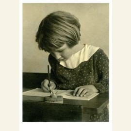 Schrijven met de kroontjespen, circa 1930