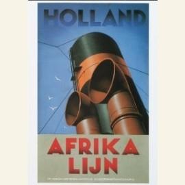 Scheepsschoorsteen Holland-Afrikalijn 1939