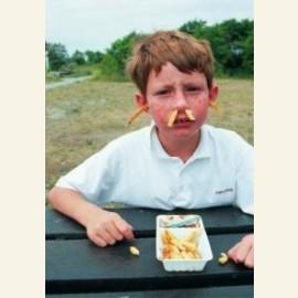 De patat komt m'n neus en oren uit / fries / frites / friet