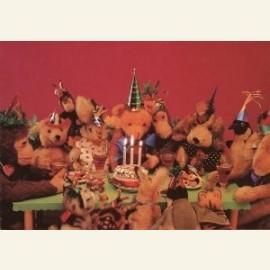 Gemengd dierenfeest 'Three cheers for Teddy'