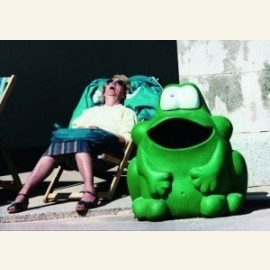 Old woman and frog