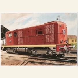 C.Burki/Locomotief 2400