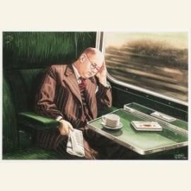 C.Burki/Slapende reiziger.