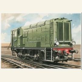 C.Burki/D.E. locomotief.