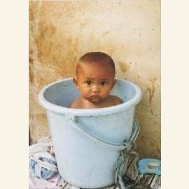 Kind in emmer
