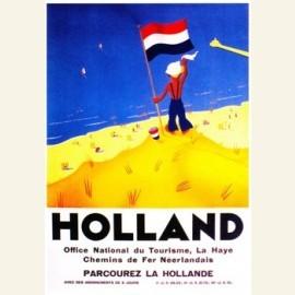 Affiche 1938 in vier talen