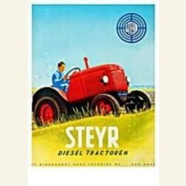 Steyer Diesel tractor