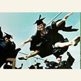 University Students Celebrate Getting their Degree