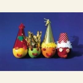 Fruit met hoedjes, 2001