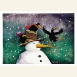 Hoi het sneeuwt!