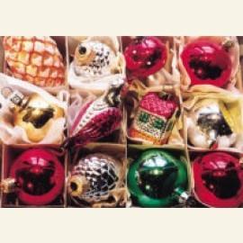Kerstballen zolder