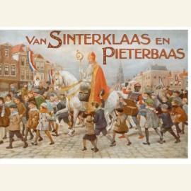Omslag van 'Van Sinterklaas en Pieterbaas'