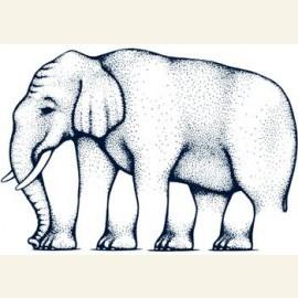 Impossible figures.Elephant legs,by Robert Shepard