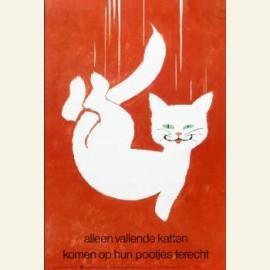 Alleen vallende katten komen op hun pootjes terech