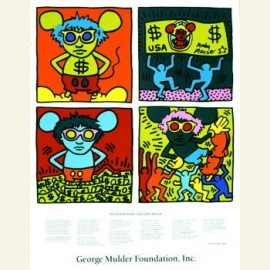 K.Haring/Andy Mouse