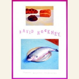 D.Hockney/The fish & bread