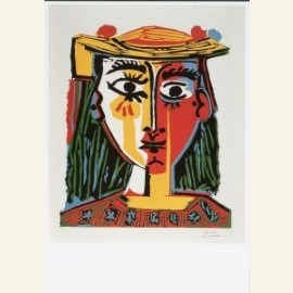 Picasso / Dame met hoed / Br