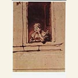Rembrandt/Saskia venster/BvB