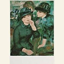 P.A.Renoir/Girls in black/PMM