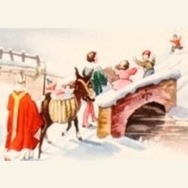 Sinterklaas,  detail, ca.1870
