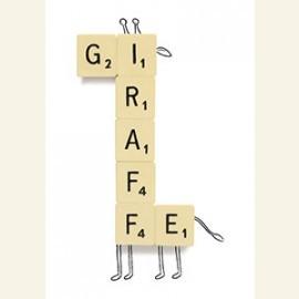 Giraffe Scrabble
