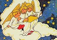 Rie Cramer (1887-1977) - Illustratie - kerstkaart