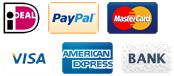 betalingsmogelijkheden in de online kunstkaarten en postkaarten winkel van Art Unlimited